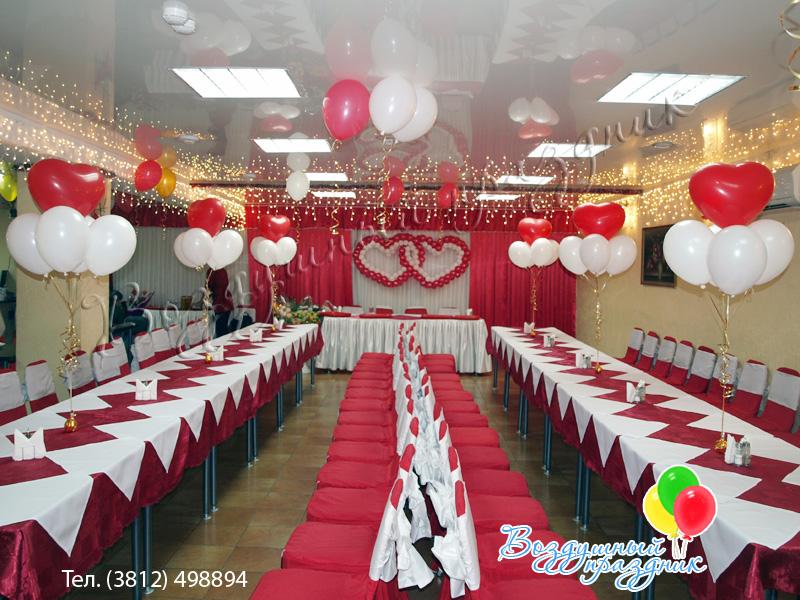 Украшаем ресторан на свадьбу своими руками