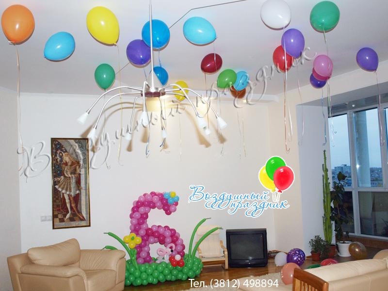 Как украсить комнату на день рождения ребенка 6 лет своими руками фото 5