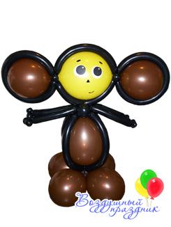 из схемы воздушных шаров животных